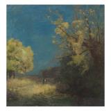 Le chemin à Peyrelebade Giclee Print by Odilon Redon