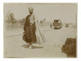 Travel in Algeria: Bedouin on a Roadside in Kairouan Giclee Print by Henri Jacques Edouard Evenepoel