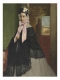 Thérèse De Gas (1842-1895), soeur de l'artiste, plus tard Mme Edmond Morbilli (morte en 1897) Reproduction procédé giclée par Edgar Degas