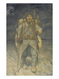 Le poilu Giclee Print by Théophile Alexandre Steinlen