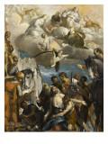 Le martyre de Saint Georges Giclée-Druck von Paolo Véronèse