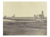 Le barrage du Nil à Kala-Saida, Egypte Giclee Print by James Robertson