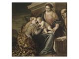 Le mariage mystique de sainte Catherine Giclée-Druck von Paolo Véronèse