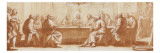 The Last Supper Gicle-tryk af Matteo Rosselli