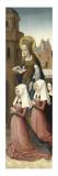 Triptyque de la messe de saint Grégoire Giclee Print