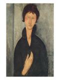 La femme aux yeux bleus Giclee Print by Amedeo Modigliani