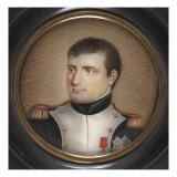 Miniature : Portait de Napoléon Ier Gicleetryck