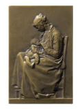 Thérèse Reproduction procédé giclée par Alexandre Louis Marie Charpentier