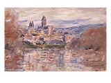 Le village de Vétheuil Giclee Print by Claude Monet