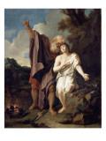 Le Sacrifice d'Abraham Lámina giclée por Antoine Coypel