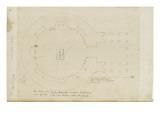 Le plan du Panthéon d'Agrippa à Rome Giclée-Druck von Herman Vischer