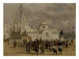 La place du Gouvernement à Alger Giclee Print by Adrien Dauzats