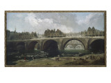 The Demolition of Houses in the Pont Notre-Dame, 1786 Giclee Print by Hubert Robert