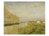 La Seine à Argenteuil Giclee Print by Claude Monet