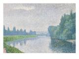 La Marne à l'aube Giclee Print by Albert Dubois-Pillet