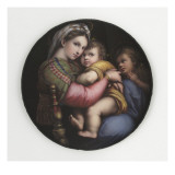 La Vierge à la chaise Giclee Print by Raffaello Sanzio