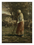 La petite berg Giclee Print by Jean-François Millet