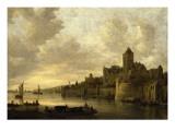 La Citadelle de Nimègue Giclée-Druck von Jan Van Goyen