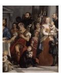 Les Pèlerins d'Emmaüs Reproduction procédé giclée par Paolo Véronèse