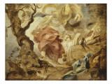 Le Sacrifice d'Isaac par Abraham Lámina giclée por Pierre Paul Rubens