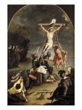 L'érection de la Croix Giclée-Druck von Cornelis de Vos