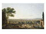 Stadt und Ankerplatz von Toulon Giclée-Druck von Claude-Joseph Vernet