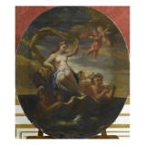 Triomphe d'Amphitrite Lámina giclée por Luca Giordano