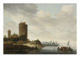 La Grosse Tour Gicl&#233;e-Druck von Salomon Van Ruysdael