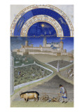 Les Tr&#232;s Riches Heures du duc de Berry Giclee Print