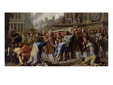 Transfer of the Body of St. Gervais and St. Protais Giclee Print by Philippe De Champaigne