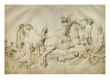 Triomphe de Bacchus Giclee Print by Jacopo Bellini