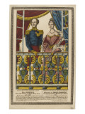 The Duke of Orleans and the Princess of Mecklenburg Giclee Print