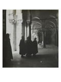 Travel in Tunisia: Men Inside the Mosque of Kairouan Giclee Print by Henri Jacques Edouard Evenepoel