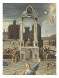 La sibylle de Tibur Giclee Print by Antoine Caron