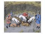 Les Très Riches Heures du duc de Berry Giclee Print