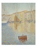 La Bouée rouge, Saint-Tropez Gicléetryck av Paul Signac