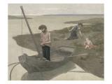 Le pauvre pêcheur Reproduction procédé giclée par Pierre Puvis de Chavannes