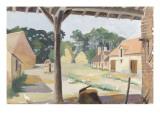 The Farmyard the Lower Brushes Vouzon (Loir-Et-Cher) Giclee Print