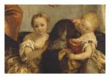 Les Pèlerins d'Emmaüs Giclée-Druck von Paolo Véronèse