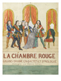 La chambre rouge, grand drame en 4 actes et 1 prologue, prologue le price royal Lámina giclée