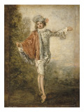 L'Indifférent Giclee Print by Jean Antoine Watteau