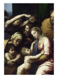 The Holy Family Told the Great Holy Family of Francis Giclee Print by Raffaello Sanzio