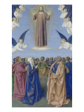 Le Livre d'Heures d'Etienne Chevalier : Fragments des Evangiles, L'Ascension Giclee Print by Jean Fouquet