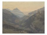 La fin d'un jour Giclee Print by Auguste Baud-bovy
