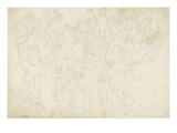 Deux frises de composite à l'antique Giclée-Druck von Arnould de Vuez