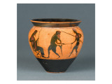 Tumbler (Mastoid Without Handles): Midas and Silenus Giclee Print