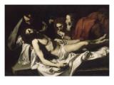 La Déposition du Christ Giclée-tryk af Jusepe de Ribera