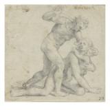 Le massacre des innocents Giclée-Druck von Daniele Da Volterra