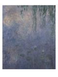 Les Nymphéas : Le Matin aux Saules Giclee Print by Claude Monet