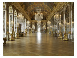 The Hall of Mirrors (State after Restoration in 2007) Reproduction proc&#233;d&#233; gicl&#233;e